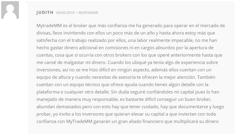 opiniones MytradeMM